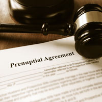 Baltimore County divorce lawyers help clients develop prenuptial agreements.